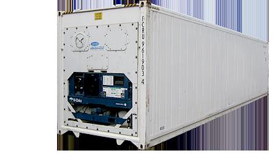 Container reefer ou refrigerado