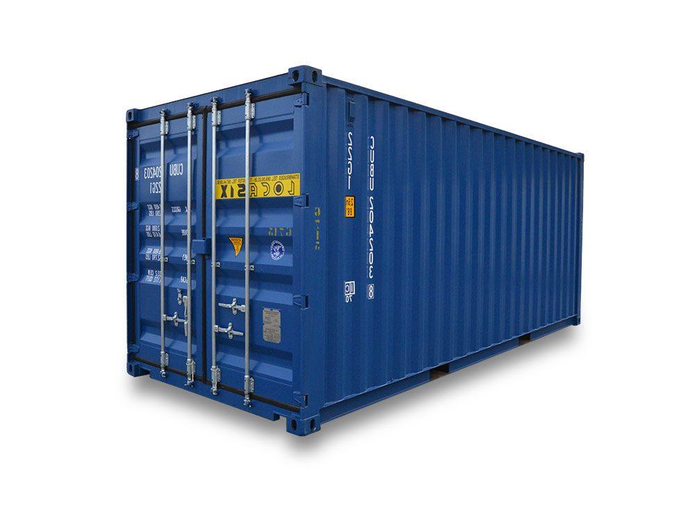 Container Dry de 20 pés