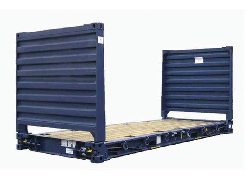 Container Flat Rack - 20 pés