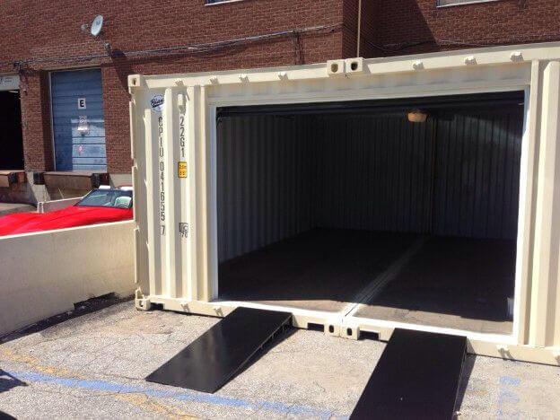 garagem container