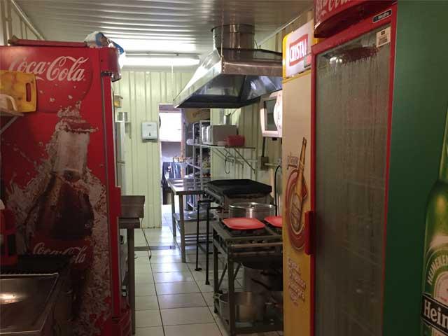 Cozinha Natchos Container
