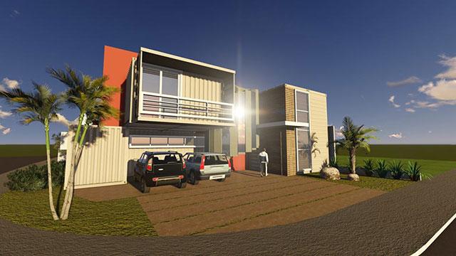 Projeto da Casa Container