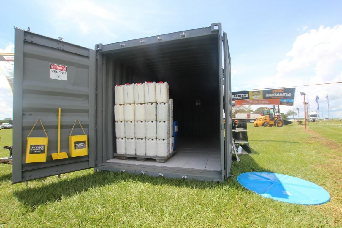 deposito cofre defensivo container